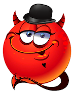 Magiccall app with devil prank smile